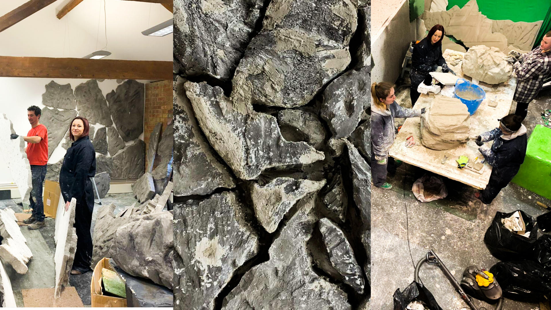 Behind the Scenes: Building the Rock Wall