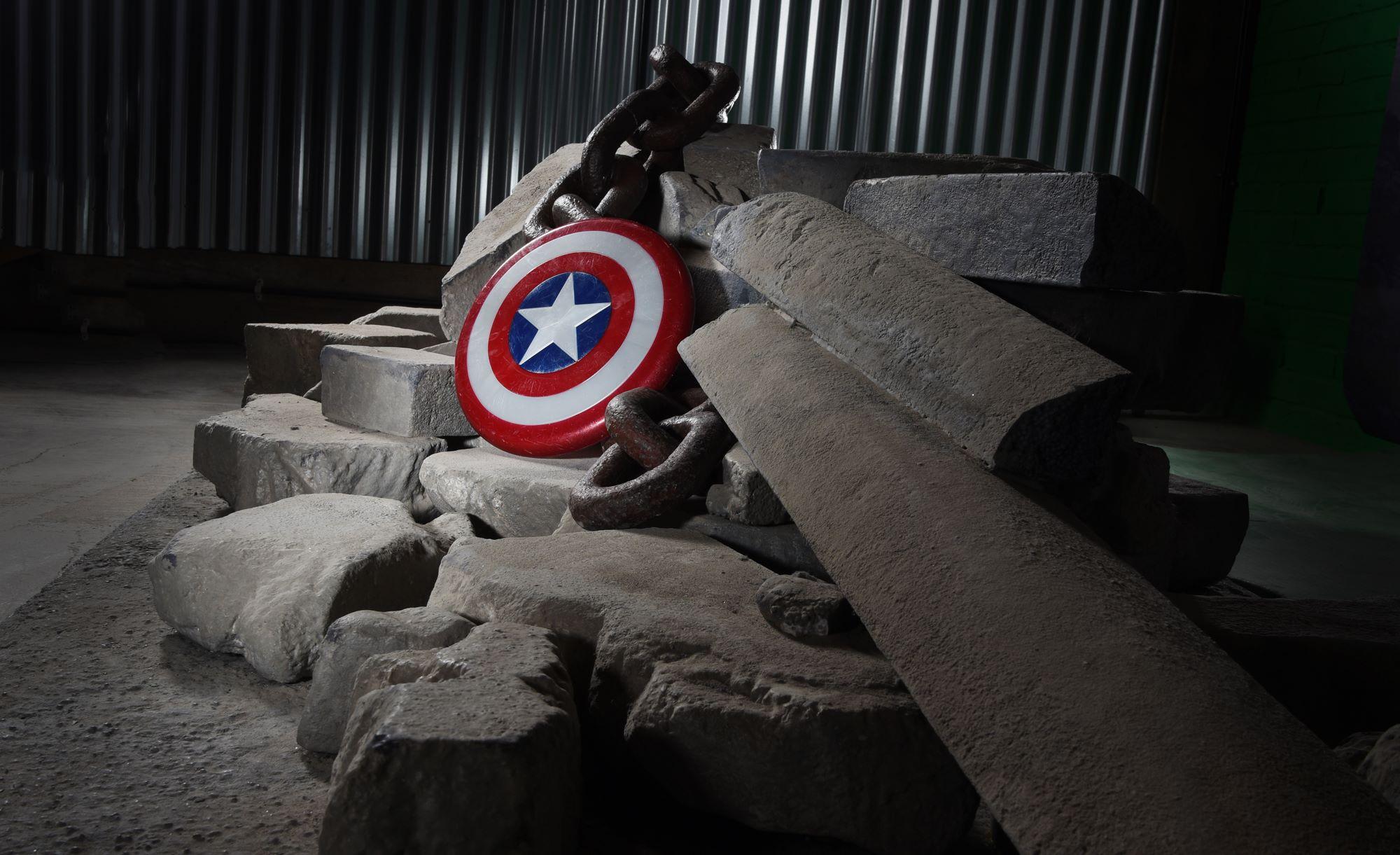 Testing our superhero set